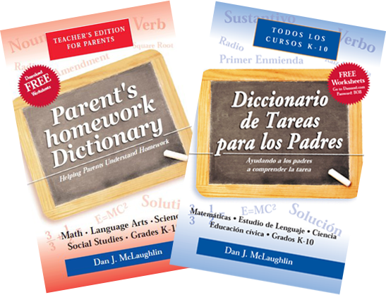 Parents homework Dictonary English Spanish